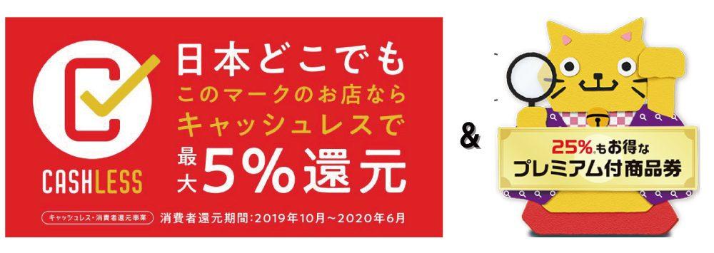当メガネ店はキャッシュレス・消費者還元事業&広島市プレミアム付商品券発行事業の取り扱い店舗です