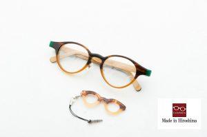 当店工房オリジナルハンドメイドメガネ