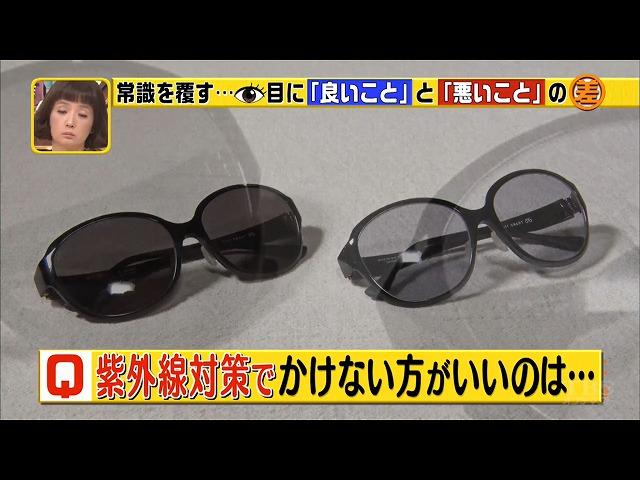 白内障とサングラスのおはなし「この差って何ですか?」