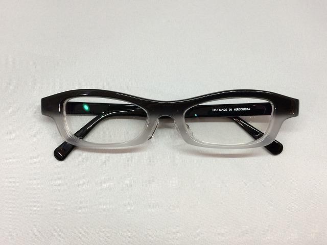 印象的で男らしいオーダーメイドメガネ