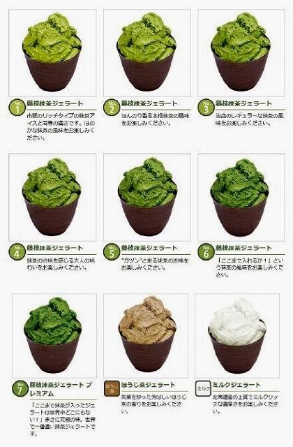 静岡県藤枝市「ななや」チョコレートと抹茶味のメガネ?!
