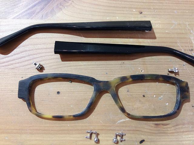 cafe & gallery Puuさんで開催「メガネ手作り体験教室」作品発表Mさま