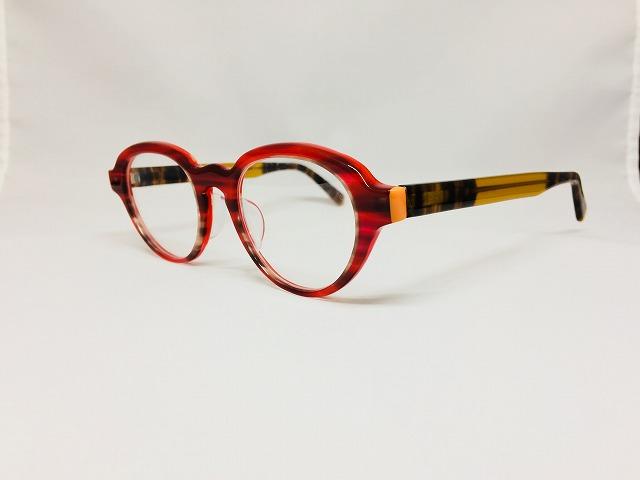 cafe & gallery Puuさんで開催「メガネ手作り体験教室」作品発表Kさま