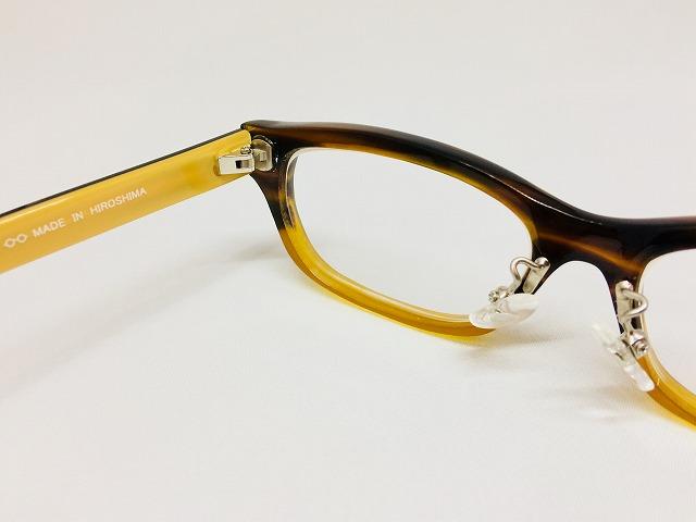 cafe & gallery Puuさんで開催「メガネ手作り体験教室」作品発表Sさま