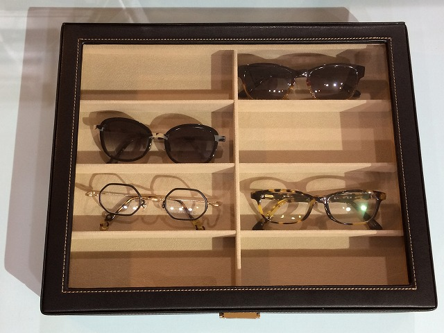 メガネ収納に便利なケースはこれ!