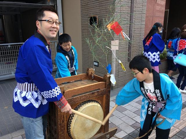 亥の子(いのこ)祭り2017 広島市南区段原