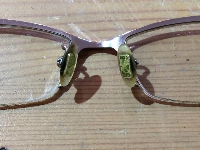 メガネが錆びてボロボロだけど修理して使いたい