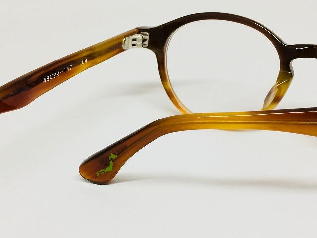 ナチュラルで優しいシンプル上質メガネ