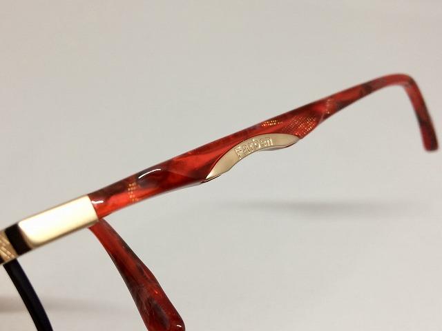 黒、金色、赤のカラフルで高級感のある日本製メガネ