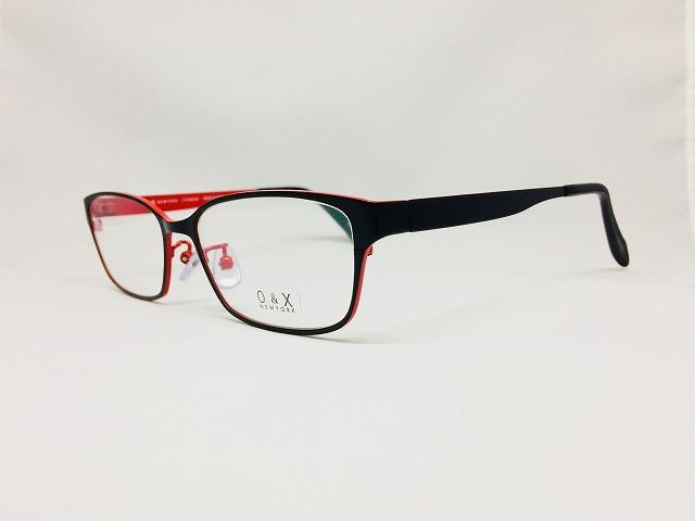広島では「赤」=カープです。ビジネスメタルメガネ