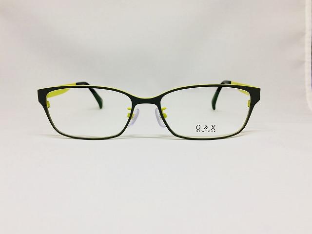 グレーカーキ&オリーブカラーのメタルメガネ