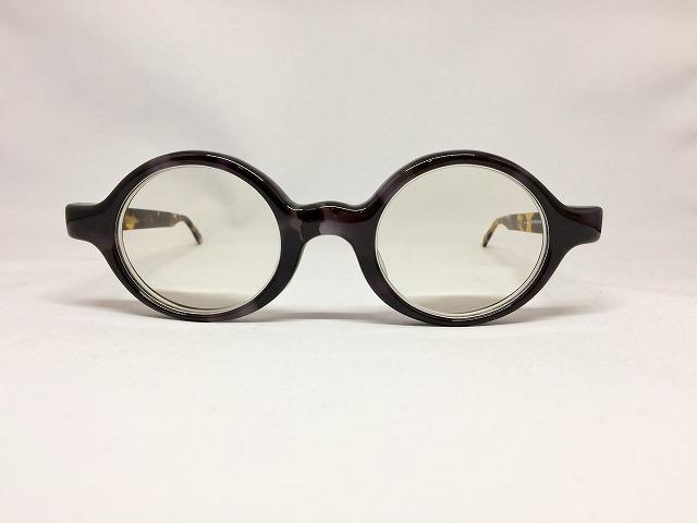 グレー&べっ甲の丸メガネをオーダーメイド