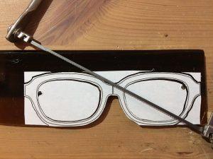ナチュラルでダンディなオーダーメイド眼鏡