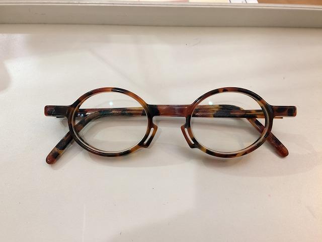 小さい丸メガネを再現してオーダーメイド