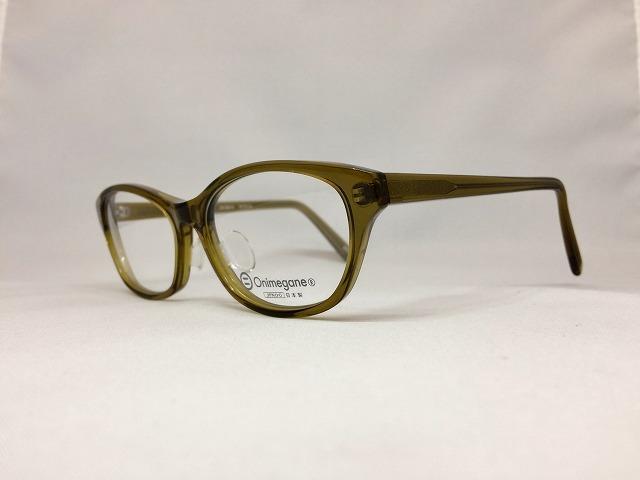 抹茶グリーンのお洒落緑色眼鏡