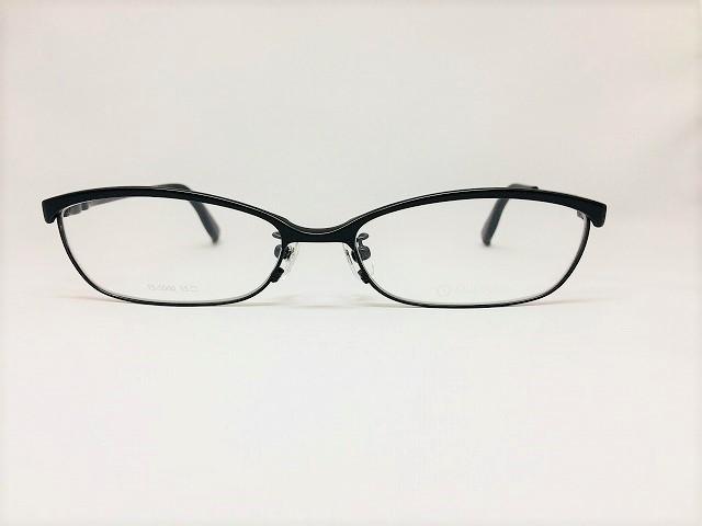ダークオリーブの軽量メンズメガネ