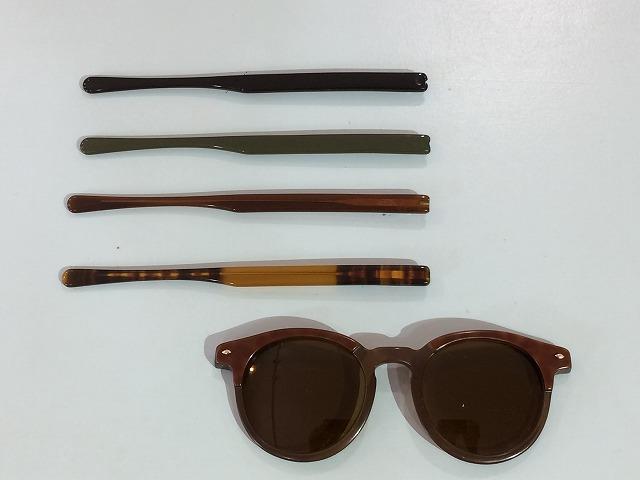メガネのつるがないけど使えるように修理できませんか?