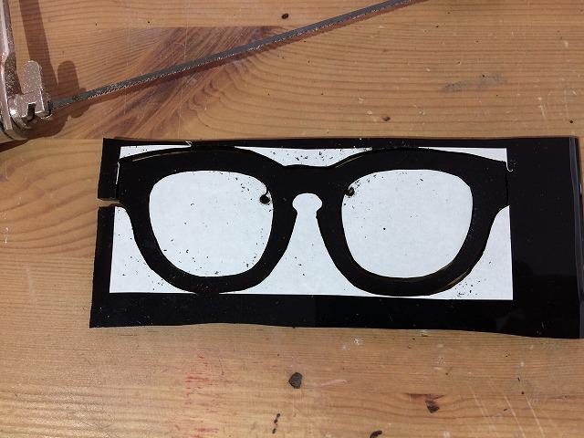 藤井フミヤさん愛用、テンダーロインハンソン(Tenderloin Hanson)風のメガネをオーダーメイド