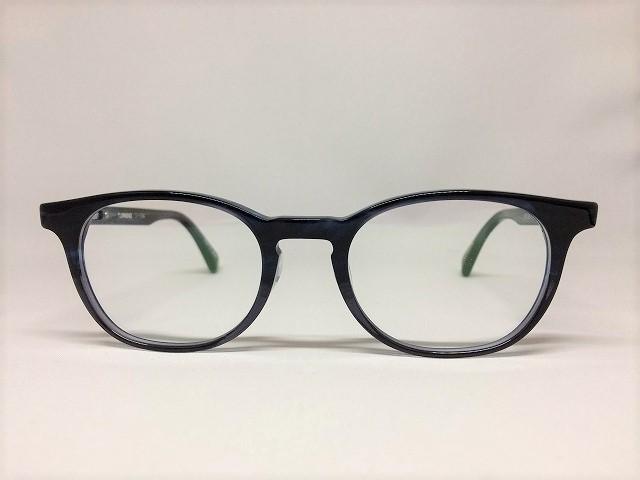紺色のボスリントン眼鏡