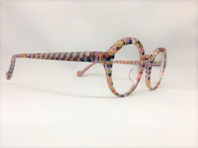 スプレーミックスカラーの可愛いメガネ