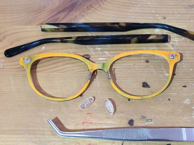優しく楽しい印象のオーダーメイドメガネが欲しい