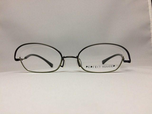 グレー&オリーブカラーの軽量デザインメガネ