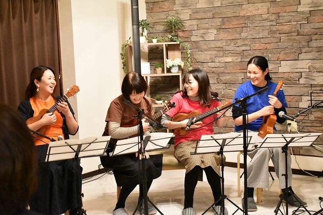 カワちゃん主催「ウクレレ・ギターパーティー」小さな発表会vol.3@広島市中区大手町