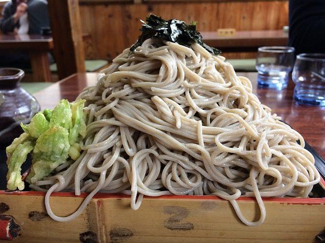 くれ竹の蕎麦恐るべし(広島県三次市)