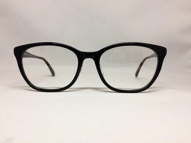 女性用ゆったりサイズメガネ、ブラックカラー