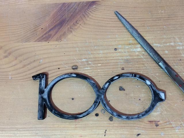 正田建設さま創業100周年の寄贈品としてメガネをオーダーメイド