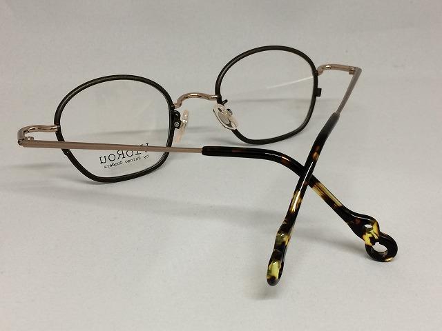 ショコラカラー丸くて可愛い眼鏡viorou