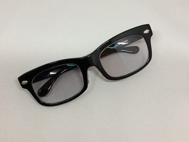 Persol863をイメージして黒ぶちメガネをオーダーメイド
