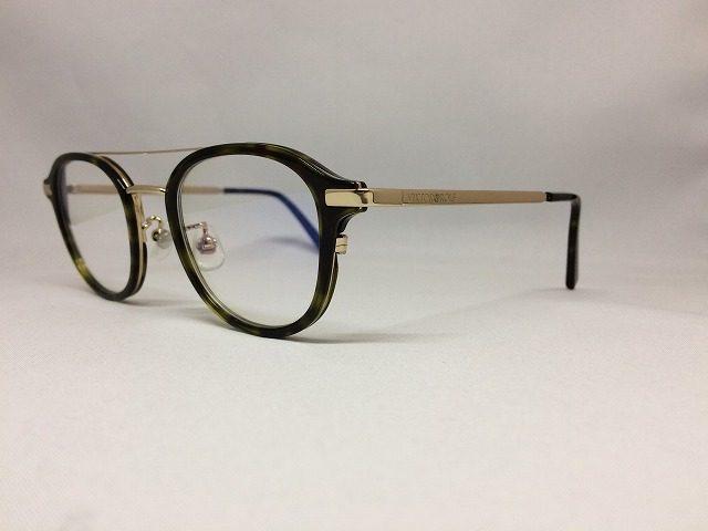 ツーブリッジのフランス製お洒落メガネ
