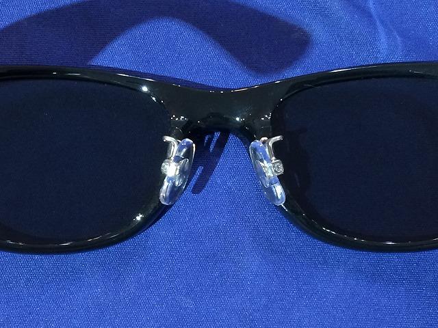 事例:Ray-Ban(レイバン)サングラスをネイビーブルー偏光レンズに交換