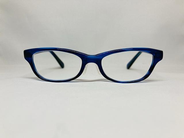 憧れの女優のブルーのメガネ(オーダーメイド)