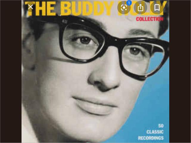 バディ・ホリー(Buddy Holly)みたいな黒縁メガネ(オーダーメイド)