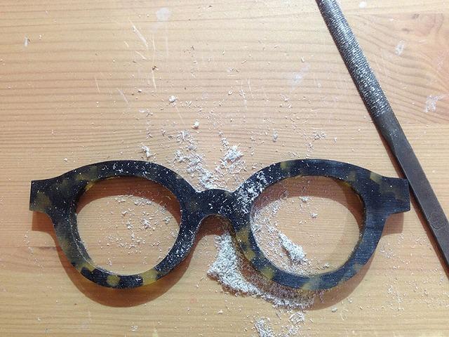 ラーメン屋るっきー(広島市中区幟町)とメガネ