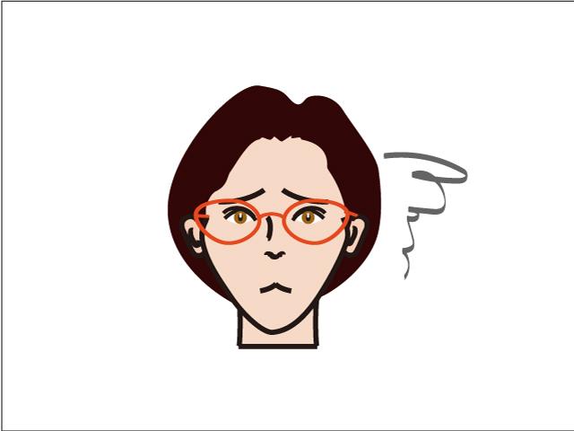 小さい顔には専用メガネっ!