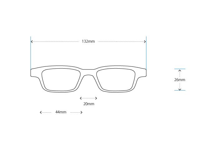 かけ心地のよいグレーのメガネをオーダーメイドしたい(強度近視-15D編)