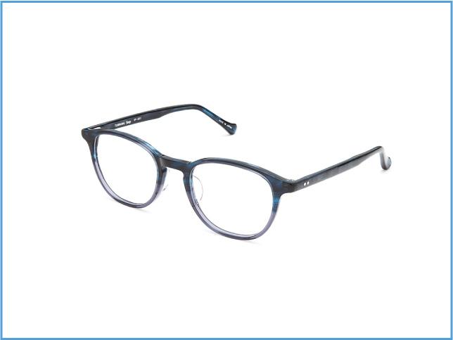 ネイビーとライトグレーの大人っぽいサングラス